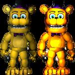 PlusFredbear/Toy Fredbear-Commission