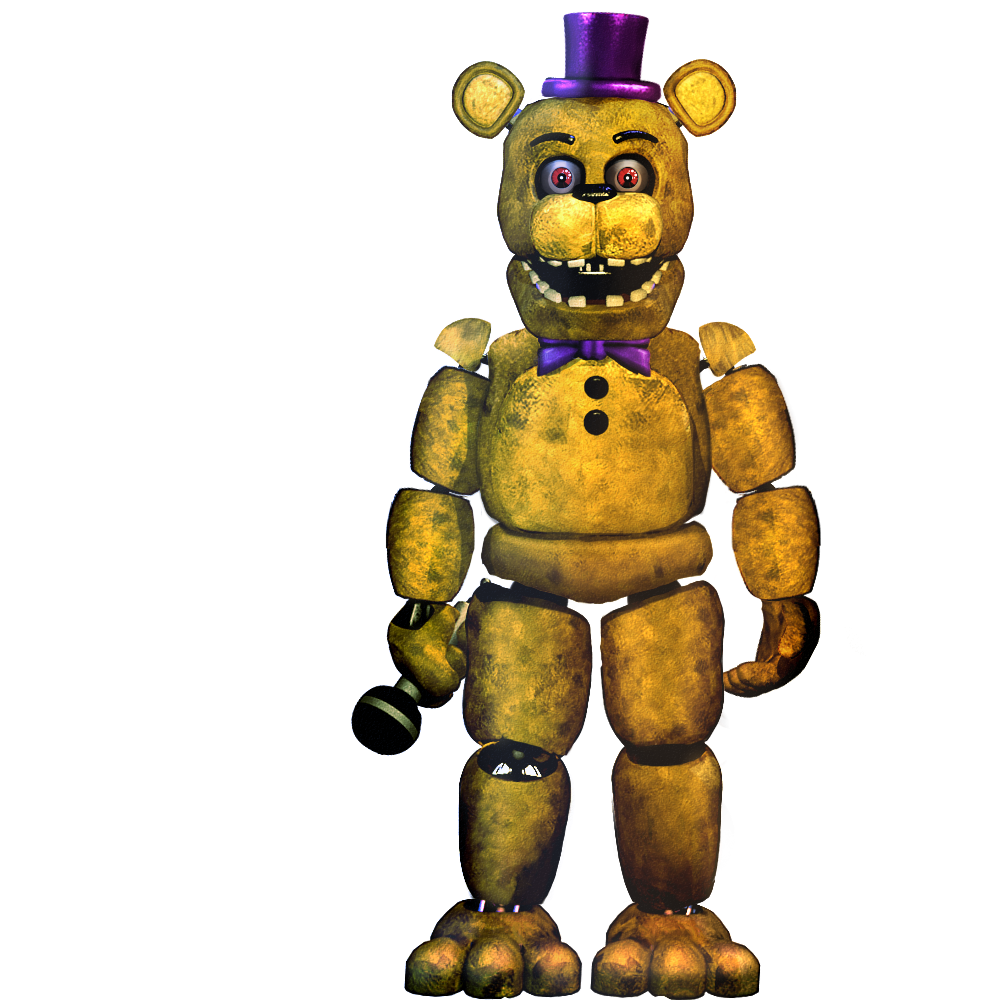 Fredbear -Commission- By Christian2099 On DeviantArt