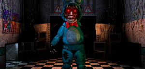 FNAF2 - Withered/old Toy bonnie + Video