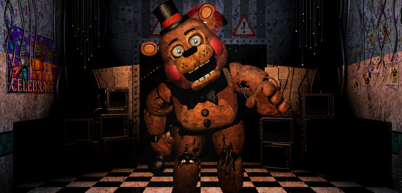 Old Freddy Toys : Fnaf withered old toy freddy video by christian