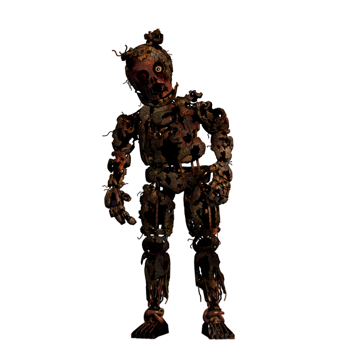 Withered/old Springtrap + Video By Christian2099 On