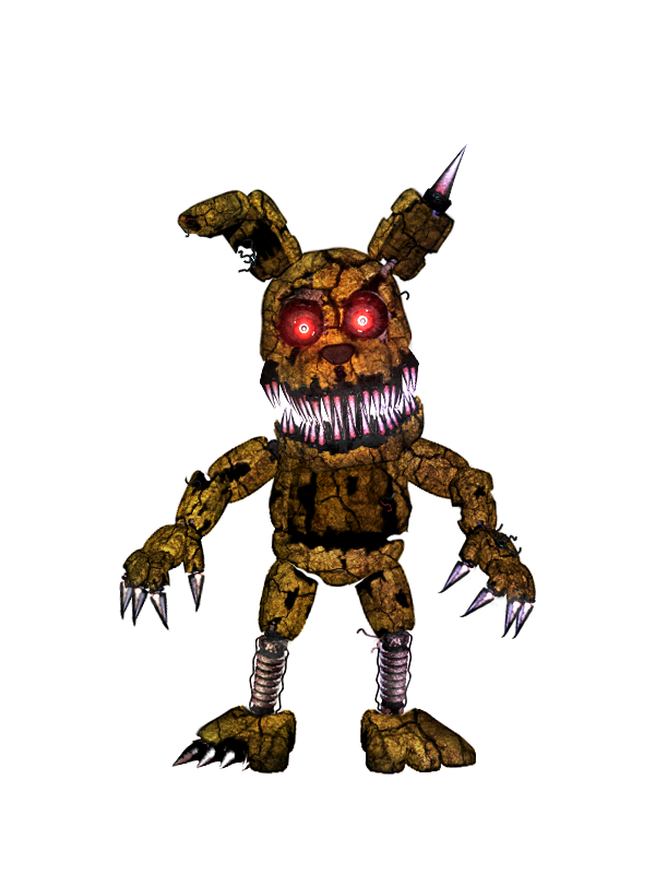FNAF - Nightmare PlushTrap + Video by Christian2099
