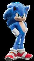 Sonic the movie - Render Nr01