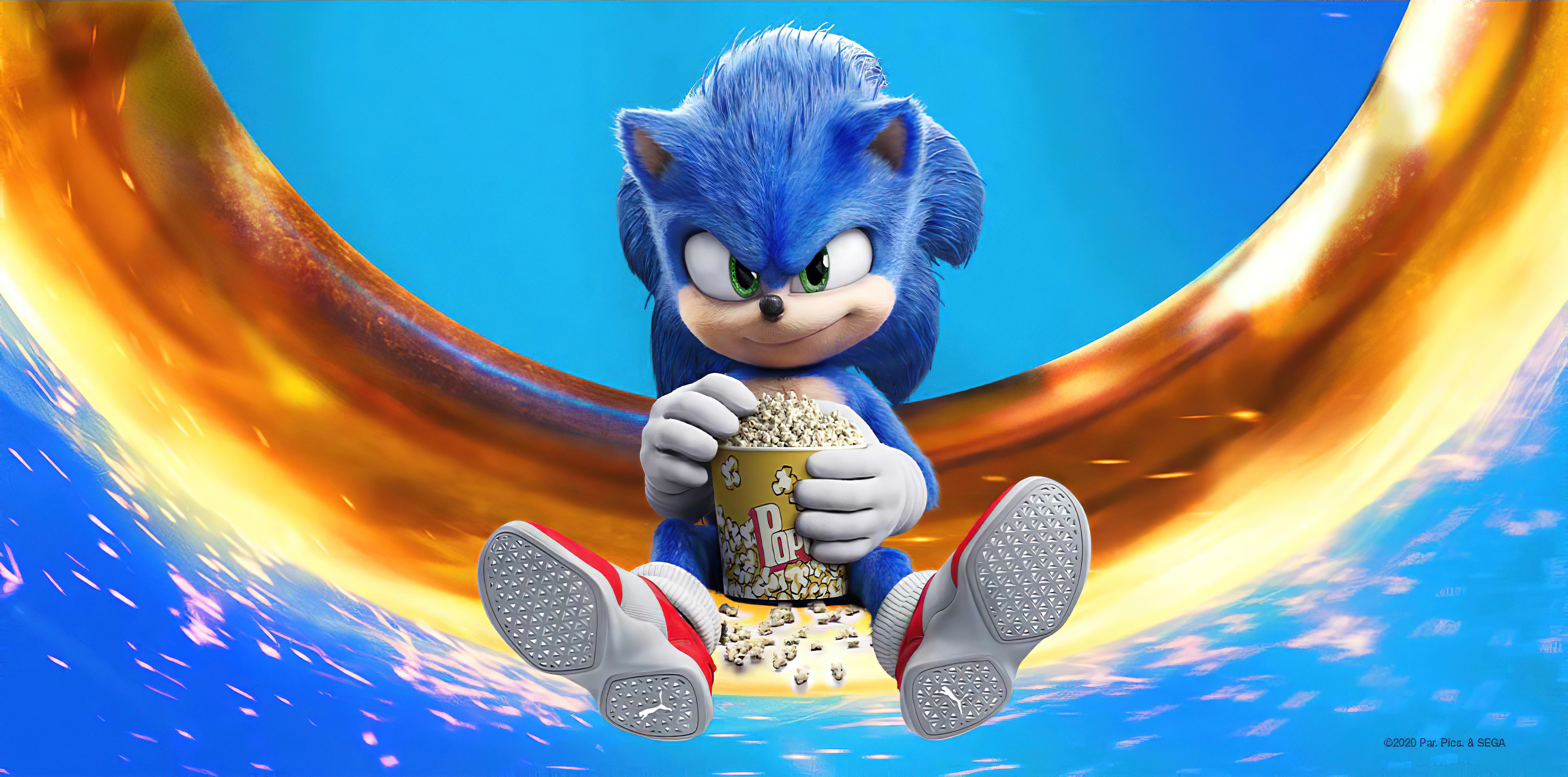 sonic the hedgehog movie wallpaper