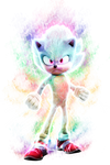 Hyper Sonic - Sonic The Movie +Speed Edit