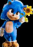 Baby Classic Sonic - Sonic the Movie
