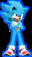 Super Sonic Blue - Sonic The Movie +SpeedEdit