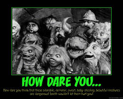 Demotivator: How Dare You... by Yoda-Vaderworshipper