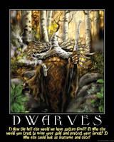 Demotivator: Dwarves by Yoda-Vaderworshipper