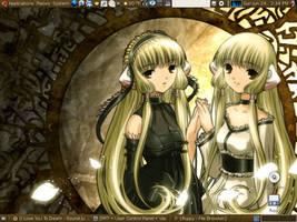 Elda and Freya Wallpaper by Dottie-Chan