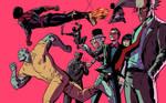 Acrobat villains colors