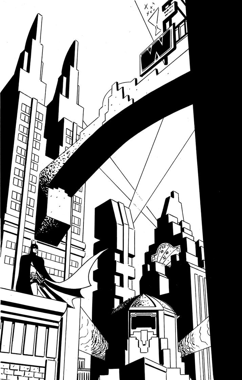 Gotham City by literacysuks1