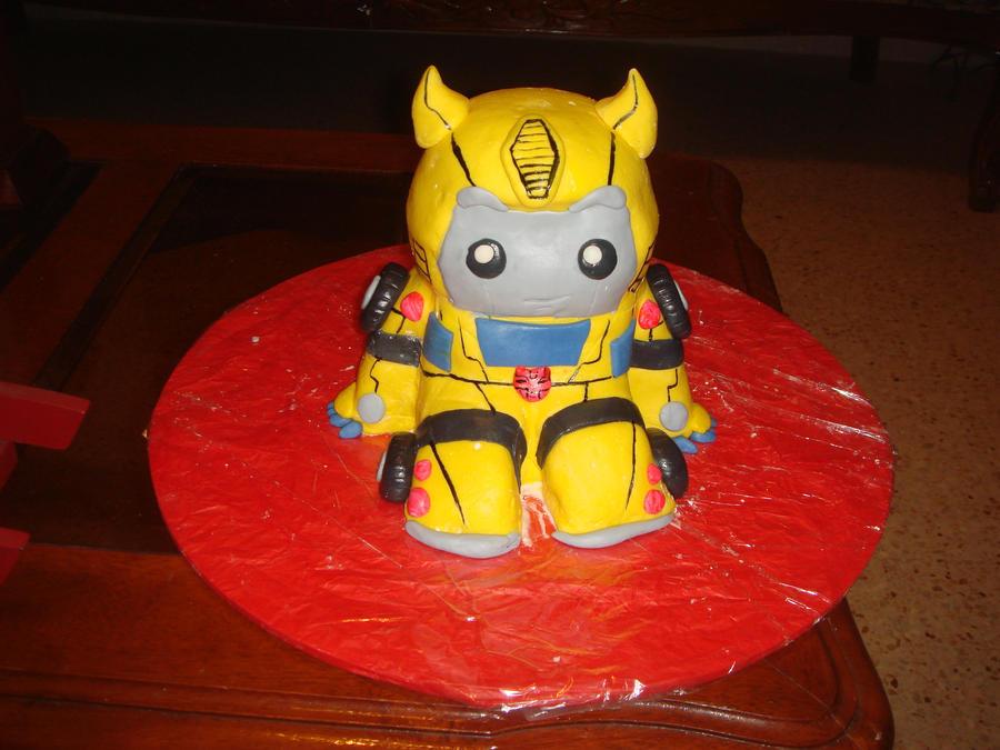 Chibi Transformers Cake