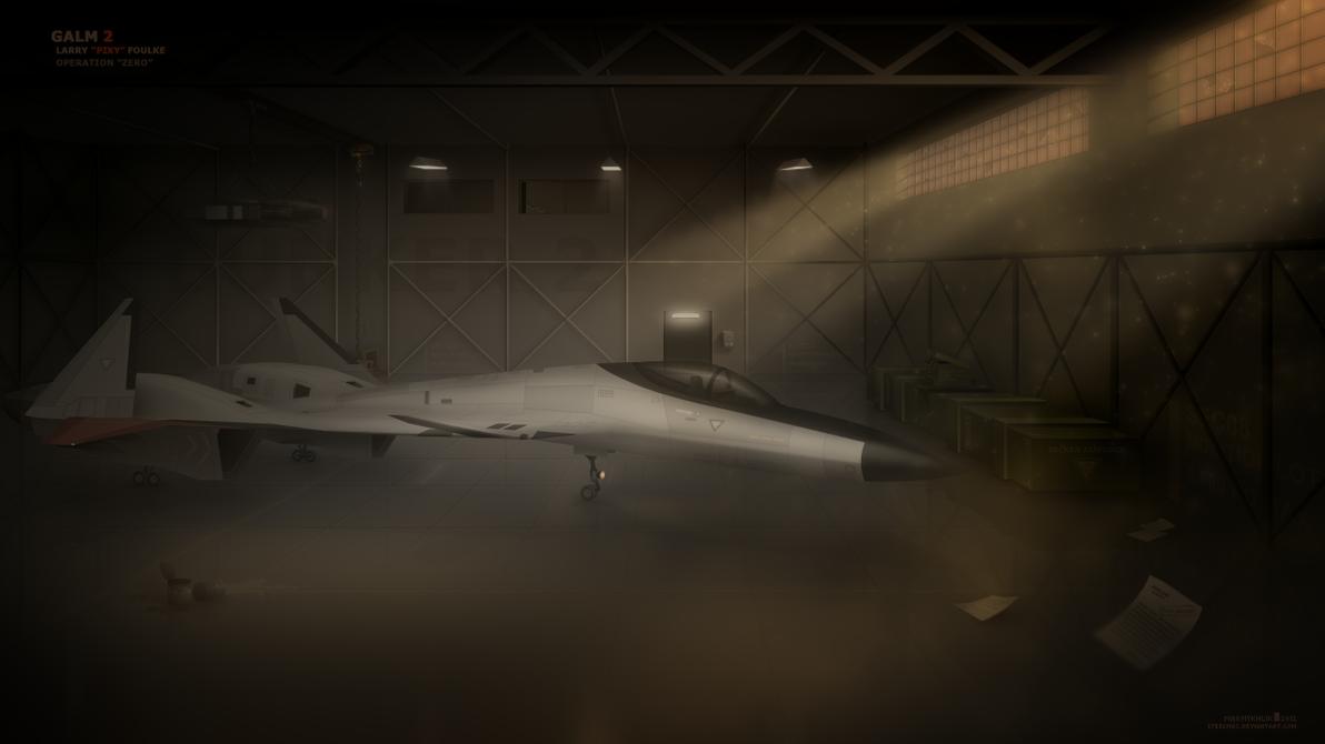 ADFX-02 Morgan - Art (Ace Combat Zero) by Steelmax
