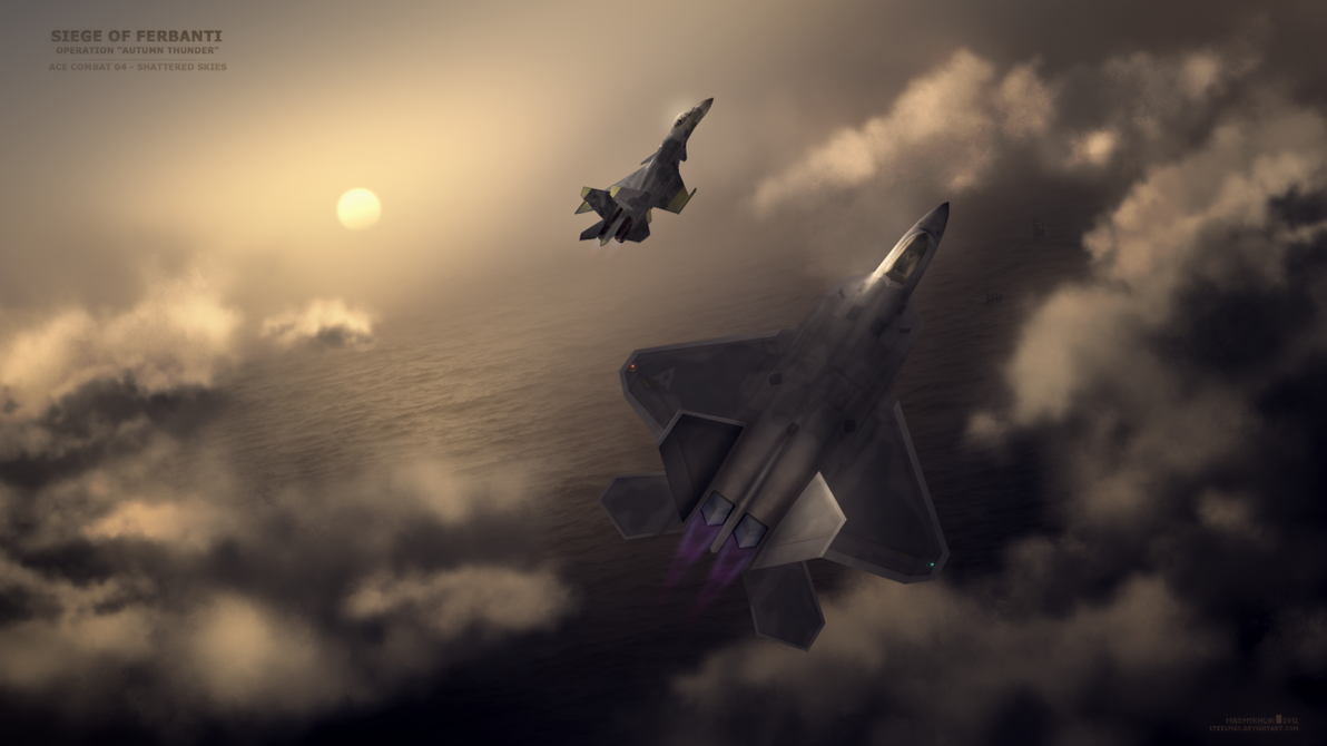 Mobius 1 - Art (Ace Combat 04) by Steelmax