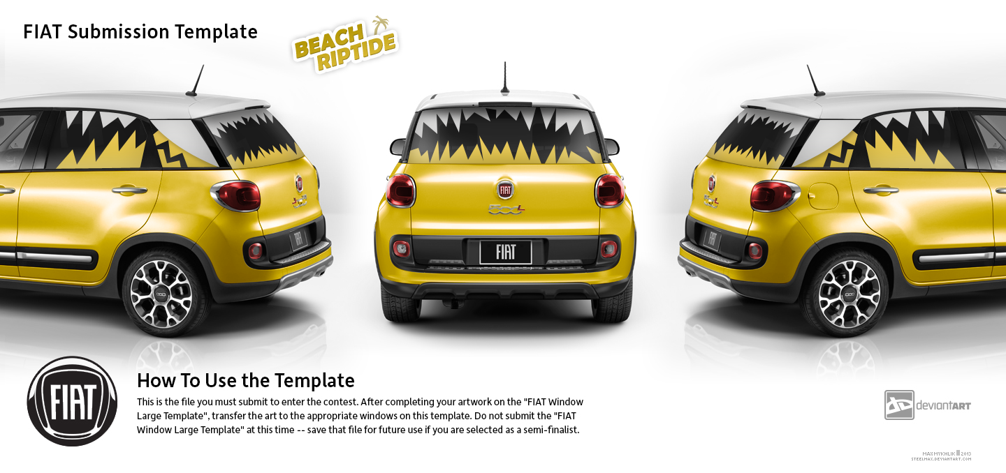 Beach Riptide (FIAT More Imagination) by Steelmax