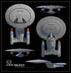 USS Galaxy - Battle Group Omega Refit - 2376