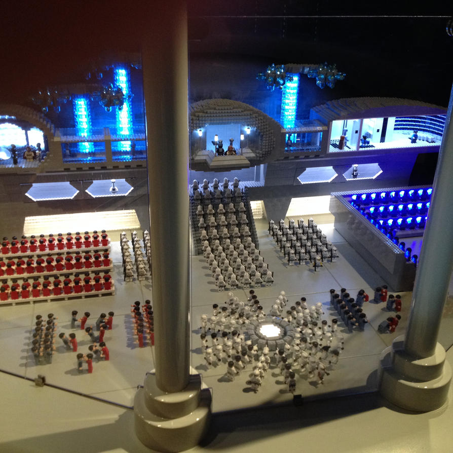 Star Wars LEGO Display (Kamino, Ep. 2) by topace12