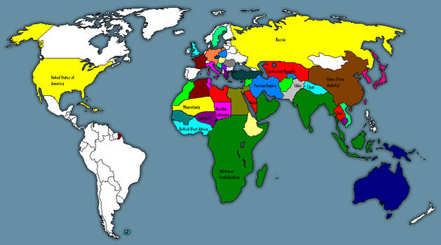 Apartheid Superpower Map 2.0