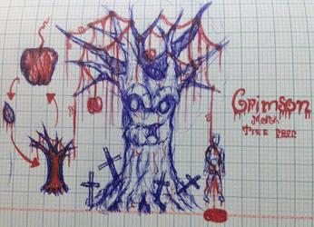 Crimson Mor'gk tree by nhok9