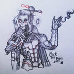Weaponaized artist: Tom by nhok9