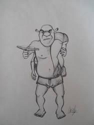 Shrek by Grizlykenysheep