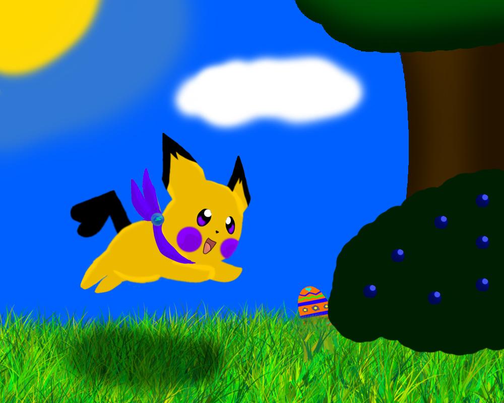 Happy Easter! by Midnightshewolf