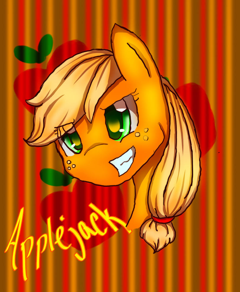 Applejack by Midnightshewolf