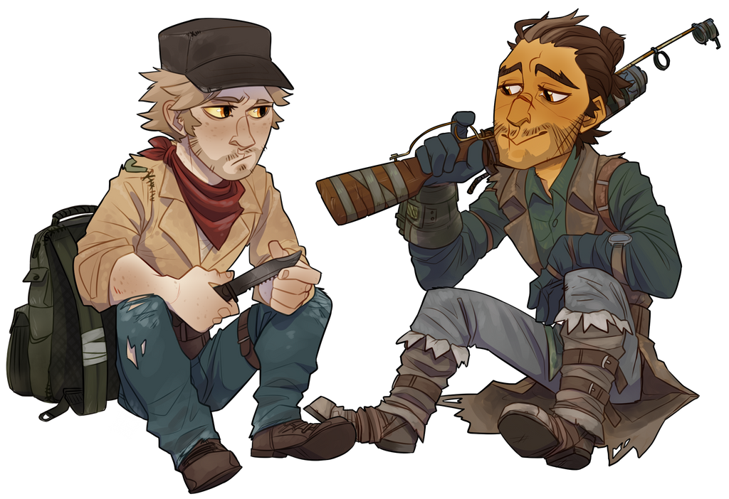 Fallout AU: Gun... er... Knife for Hire