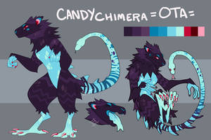 OTA: Candy Chimera CLOSED by Spockirkcoy