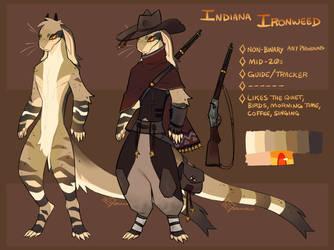 Indiana Ironweed ref by Spockirkcoy