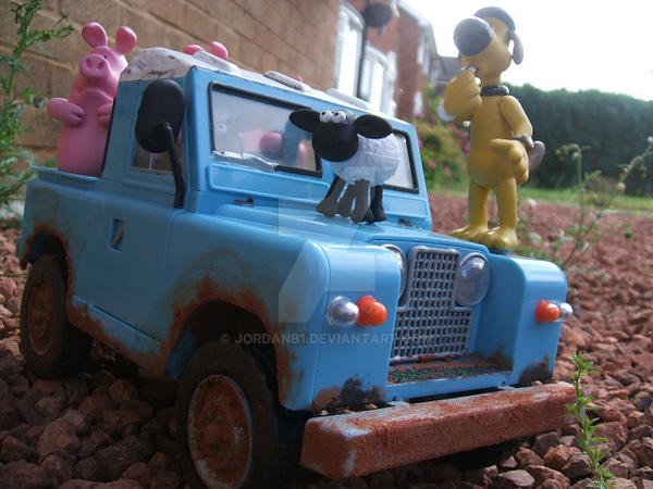 Airfix Shaun The Sheep 7 by JordanB1
