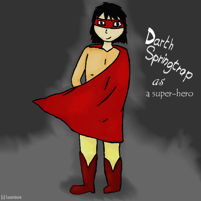 Mes dessins !  Darthspringtrap_as_a_super_hero_by_lucariaura-da8tu8p