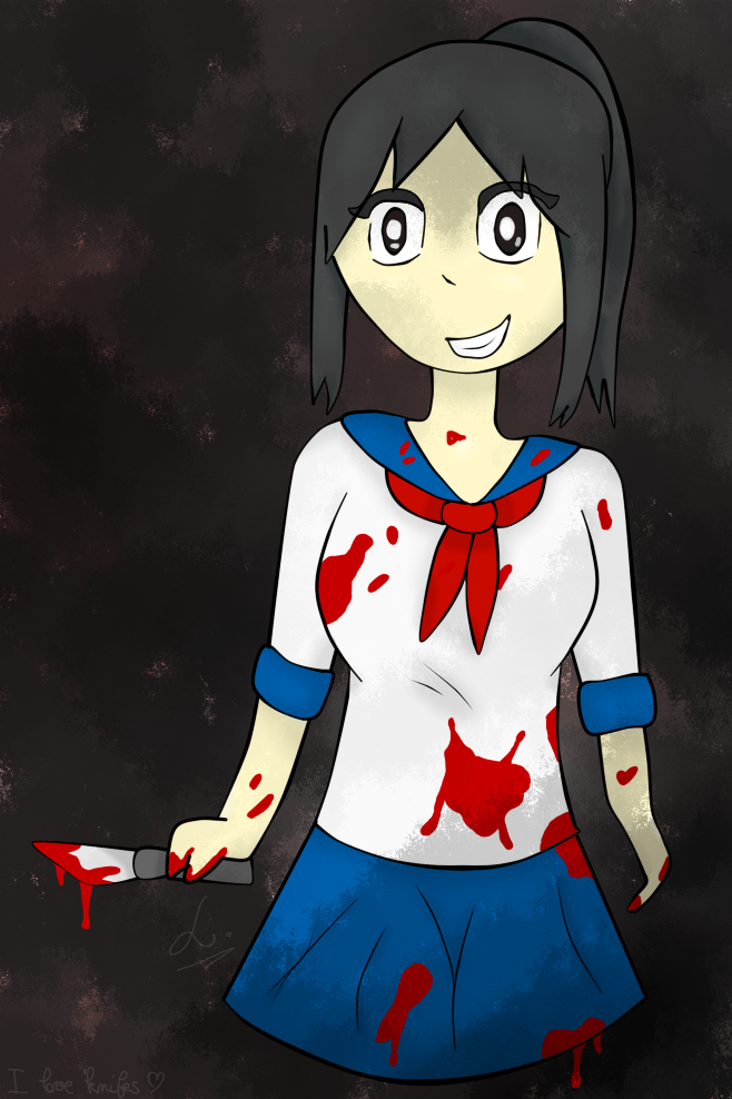 Mes dessins !  Yandere_chan_is_now_mad_by_lucariaura-dab4a4d