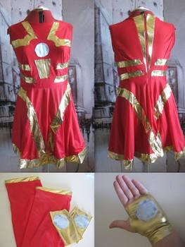 Iron Man Dress - Final Product