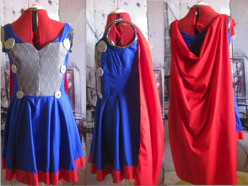 Thor Dress - Final Product by Misguided-Ghost1612