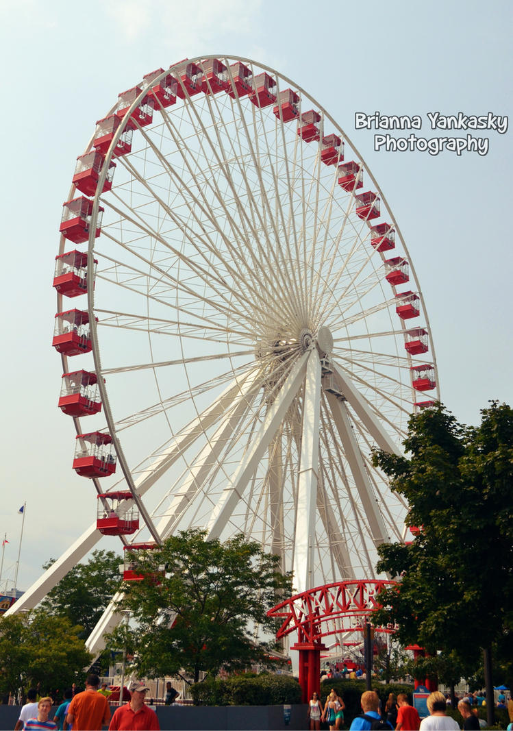 Navy Pier - Ferris Wheel by VampireBree