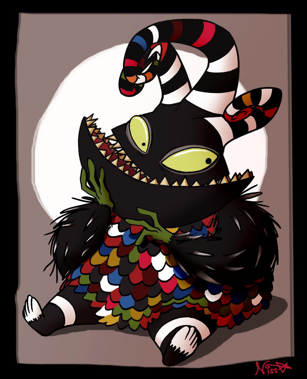 Harlequin Demon by SnazzyDoodle on DeviantArt