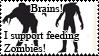 I support feeding zombies by Wa-pie