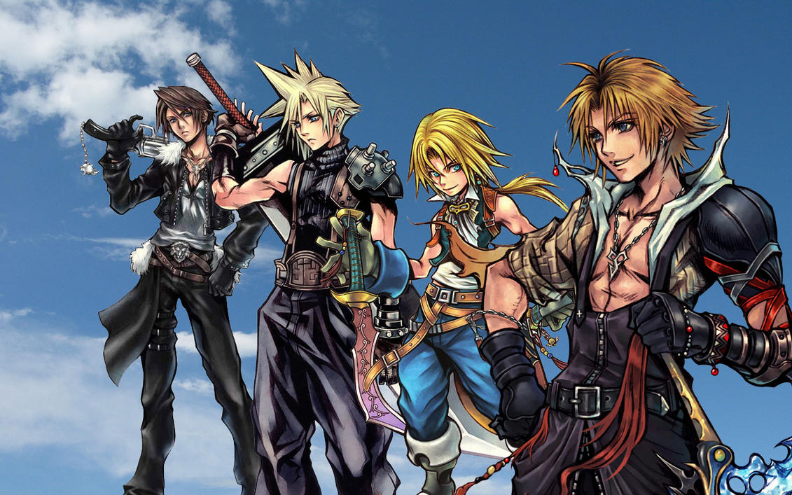Final Fantasy Dissidia...