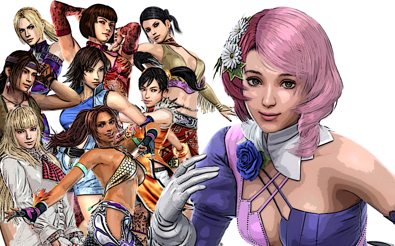 Tekken 6 Girls By Axel Vampire On Deviantart
