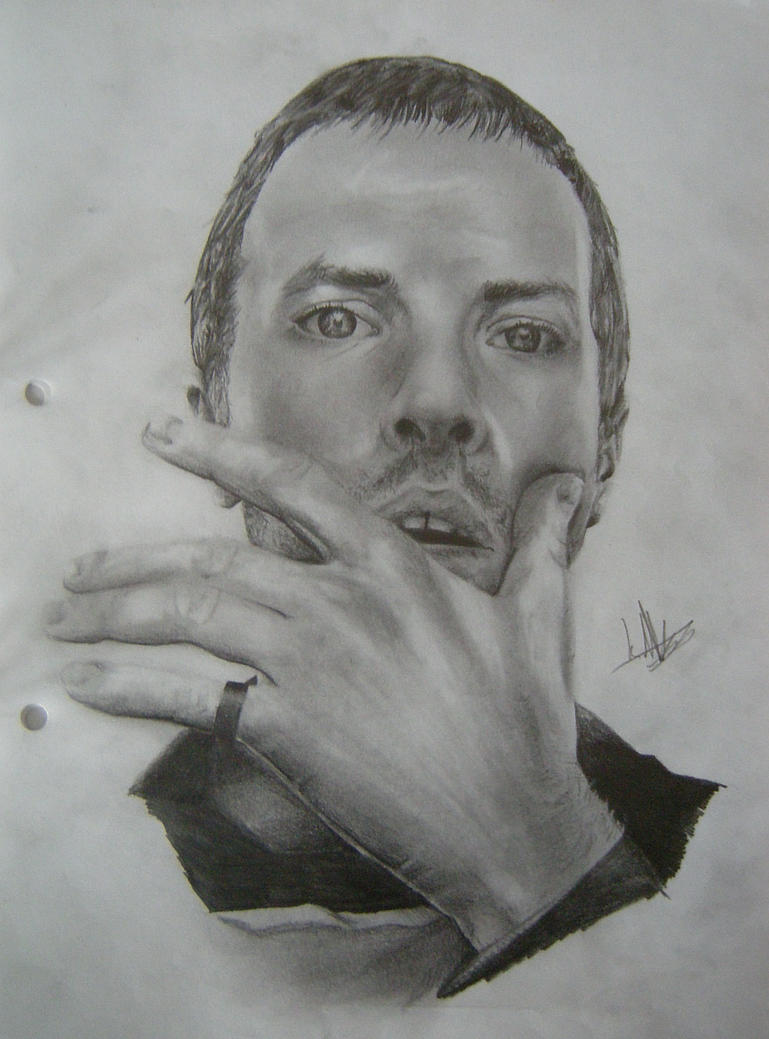 Chris Martin - Coldplay by CurlyWurly808