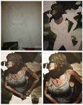 Lara Croft 2 - Tomb Raider 2012 - WIPs