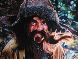 Bofur Watercolour Portrait