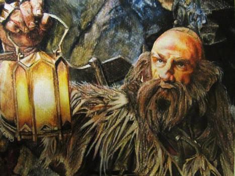 Dwalin Watercolour Portrait