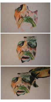 Radagast Portrait - WIP
