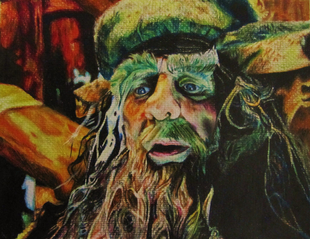 Radagast Watercolour Portrait by CurlyWurly808