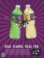 Beatle Juice Print Ad