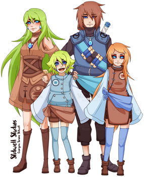 Fukuda and Kann Family