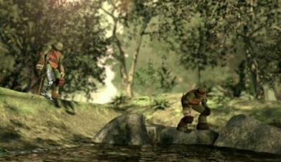 Leo na floresta